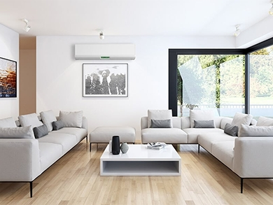 Como harmonizar o ar condicionado com a decoração da casa